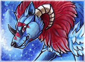 ACEO_Schwarznebel by Kyuubreon