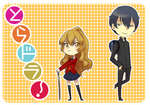 Toradora stickers by Watertae