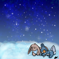 Pokemon Mystery Dungeon, Snow by miflore