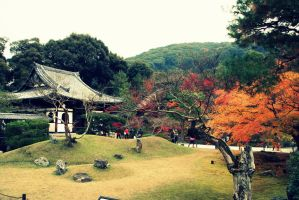 Autumn in Japan by Shreever