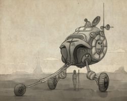 bender trike colour 1 by LaughtonMcCry