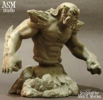 Doomsday Mini Bust Pic3 by ASM-studio