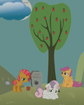 Apple Lost From The Bushel by vaneson11