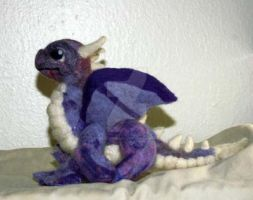 Needle Felted Dragon by The-GoblinQueen