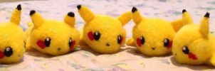 Pikachus for Sale by PridefulSin