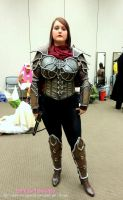 Phoenix Comicon Demon Huntress Cosplay by Immobliss