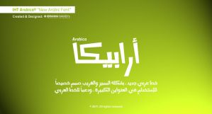 IHT Arabica Font - Cover by adriano-designs