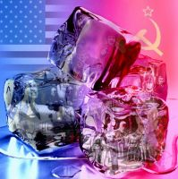 Cold War Ice Cube by twistedndistorted