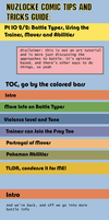 Nuzlocke Comics Guide:  Battles Pt 2 by OddPenguin