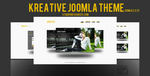 Kreative Joomla Theme Avalialbe For Sale ! by KRONTM