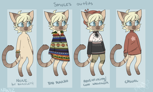 Smule's outfits by Tedyr