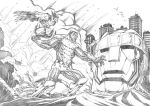 Wolverine and Colossus - Comission by darnof