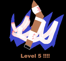 Am Lv 5!! in newgrounds by FunnyGamer95
