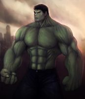 The Hulk by herculesfilho