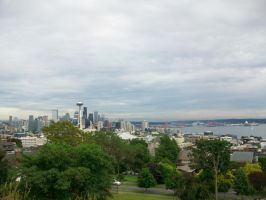 Gloomy Seattle 2 by kwuus