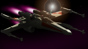 X-Wing by MikeWong2795