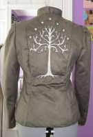 Tree of Gondor Coat - Back by silver2007dragon