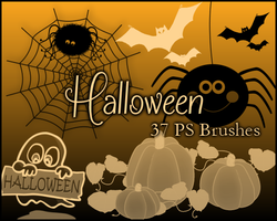 PS Halloween Brushes by Illyera