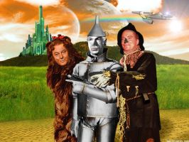 Star Trek Wizard of Oz by Rabittooth