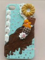 decoden iphone 4 mint Chocolate phone case by Luna-Goodies