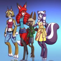 The furs - Colours by falingard