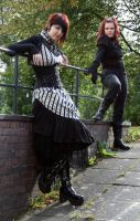 Steampunk meets Gothic5 by Noirin-Stock
