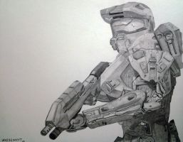 Master Chief by SourEasel