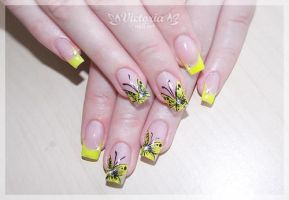 Nail art 273(Gel nails) by ChocolateBlood