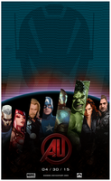 Avengers - Age of Ultron Teaser Poster by dDsign