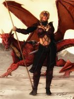 Dragon Highlord Phair Caron by Sharby