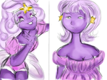 Adventure Time: Lumpy Space Princess by AfricanAmericanAnime