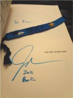 The Fault In Our Stars bracelet by ivy11