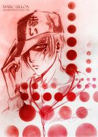 Red Sketch by Giname