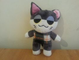 For Sale - Punchy Cat Plush by mikeyjone1