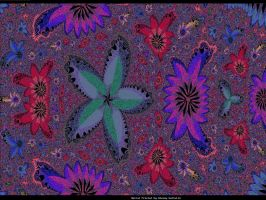 chemical flowers fractal theme by pgmatg