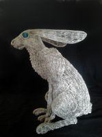 Large Hare 2 by braindeadmystuff