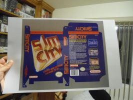 Sim City Unreleased NES game by vladictivo