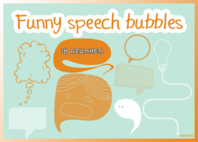 Funny speech bubbles by download12342