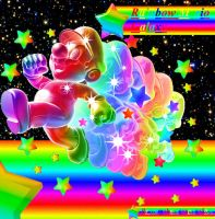 Rainbow Mario Galaxy by Gamehuntsuprise50pc