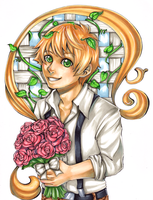 His Garden of Roses by Theherois--me