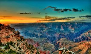 Canyon Glow 2 by AndrewShoemaker
