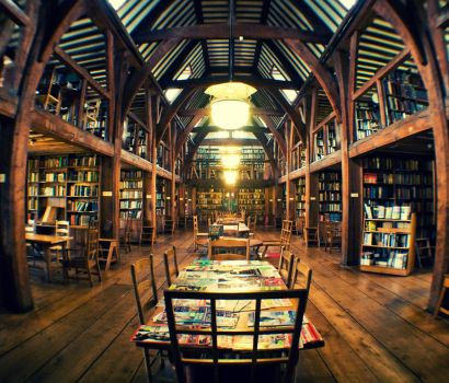 The Library by george-wilson