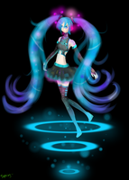 Miku is Loading by Hotspring-San