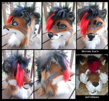Ultimate Makeover: Fursuit edition by Sharpe19