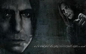 Severus Snape Wallpaper by TheHalfBloodPierrot