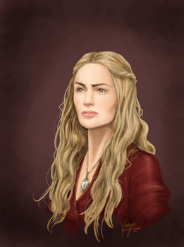 Cersei Lannister (HBO) by Samoubica