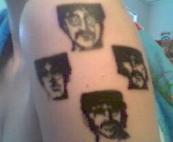 Beatles Tattoo by beatles4eva