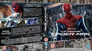 The Amazing Spider-man Blu-Ray cover by MrPacinoHead