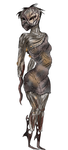 Monster Concept: Tortured woman by LavaPixie