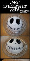Jack Skellington Cake by AngelHuskune